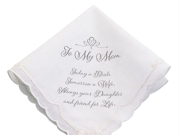 Tmx Mother Of The Bride Hankie 51 782147 Lynn, MA wedding favor