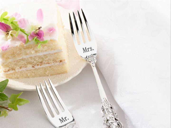 Tmx Mr And Mrs Wedding Cake Forks 51 782147 Lynn, MA wedding favor