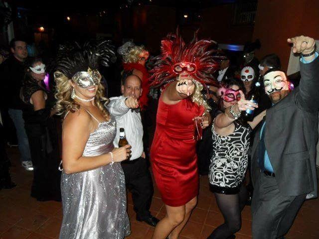 Masquerade Reception