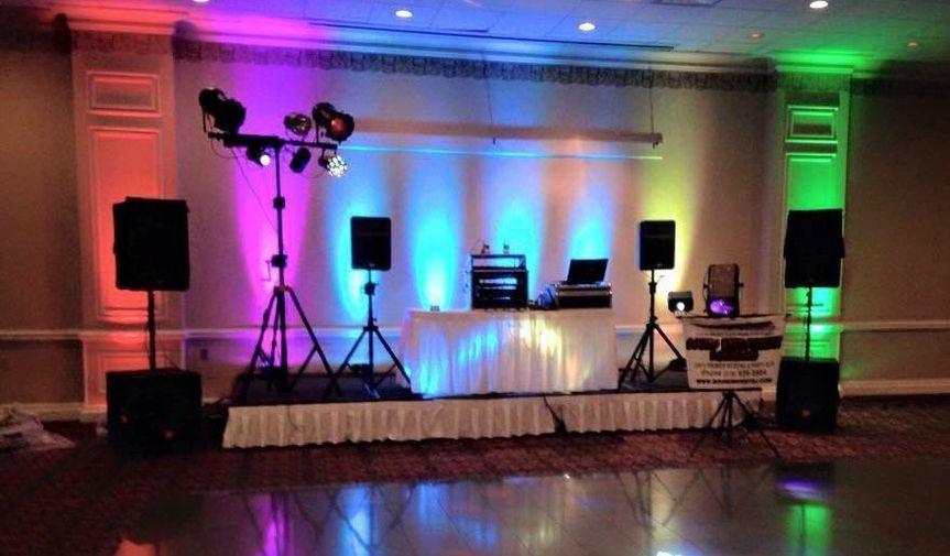 Our DJ set-up