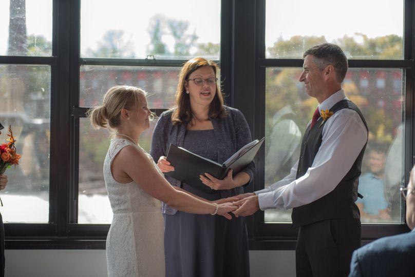 Wedding at waterworks