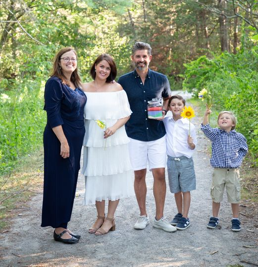 Vow renewal in Vermont