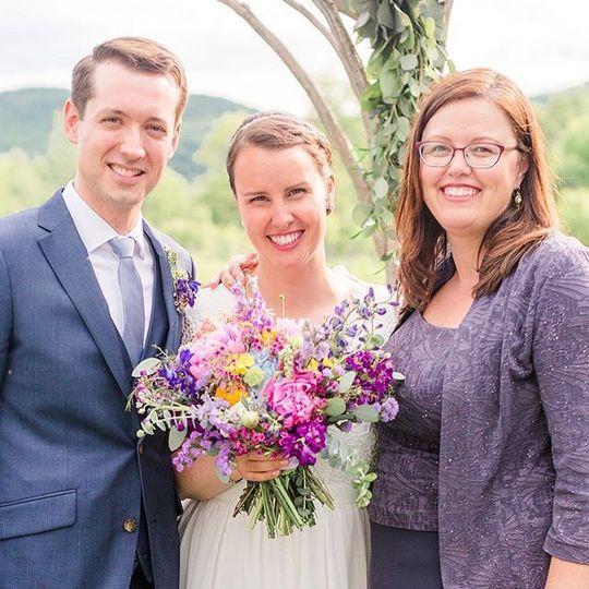 The Ponds wedding