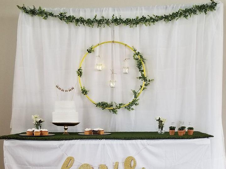 Tmx Greenery Gold Hoop Bashdrop 51 1944147 158255006310125 Troy, NY wedding eventproduction