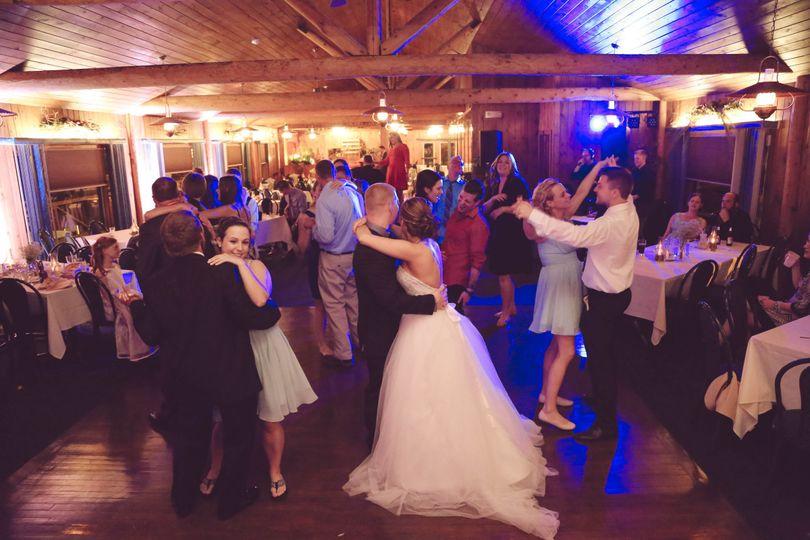 Couples dancing