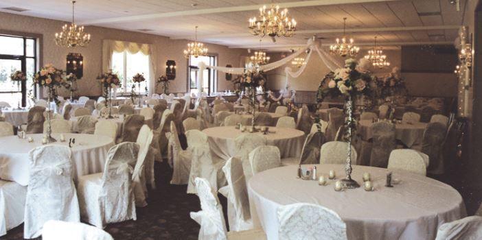 Wedding receptions etup