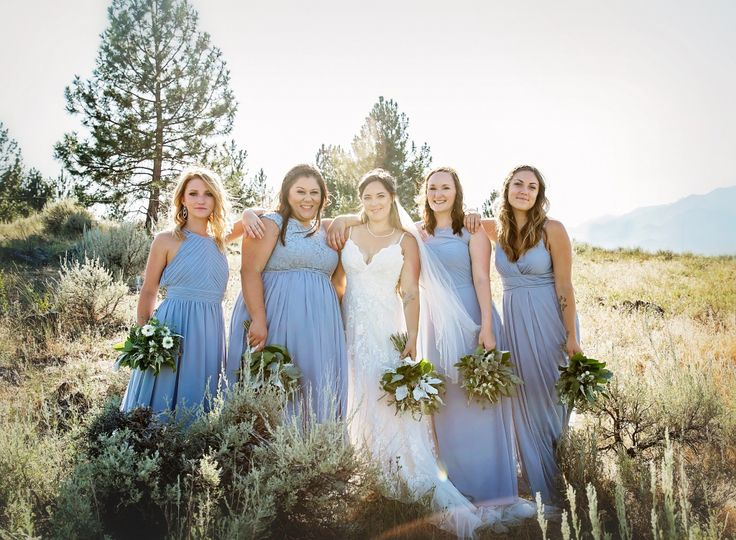 A beautiful wedding party