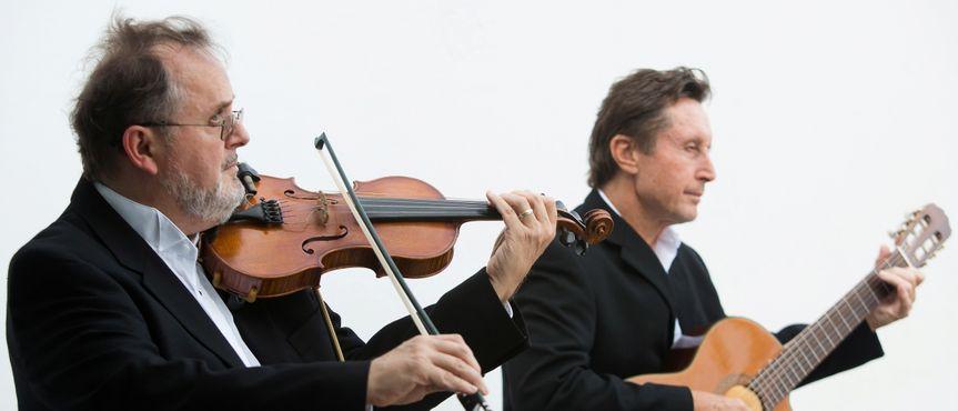 #Guitar & Violin at Ceremony
