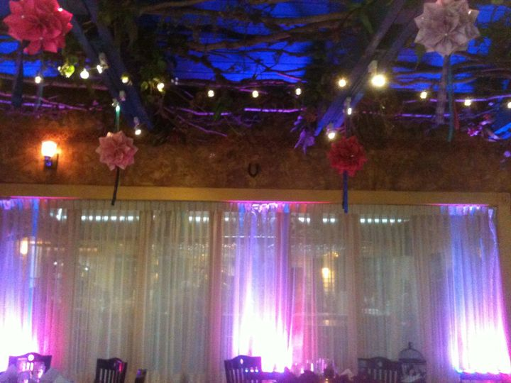 #up lighting at Sundyhouse