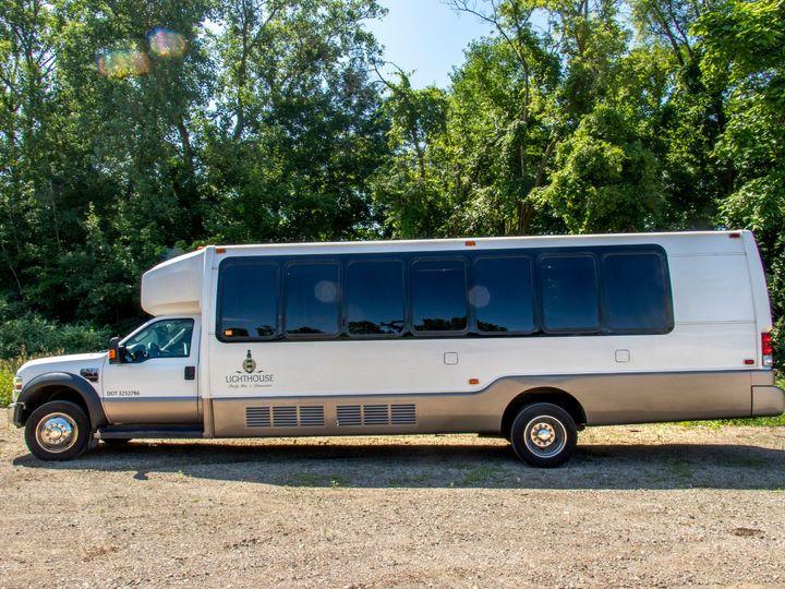 Tmx Isle Royale 22 Passenger Party Bus Full Driver Side View 51 1067147 1563927291 East Lansing, MI wedding transportation