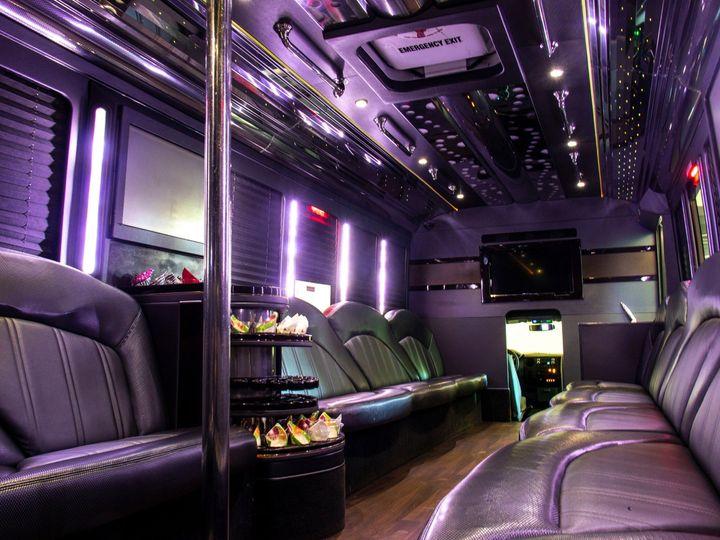 Tmx Spectacle Reef 30 Passenger Party Bus Interior From Corner 51 1067147 1563927325 East Lansing, MI wedding transportation