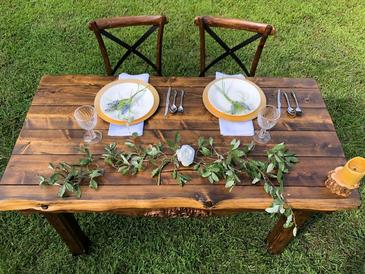 Tmx A Rustic Affair Tuscany Table 3 51 1267147 1570136739 Patchogue, NY wedding rental
