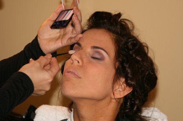 Smoky Bridal eyeshadow application by Mimi.
