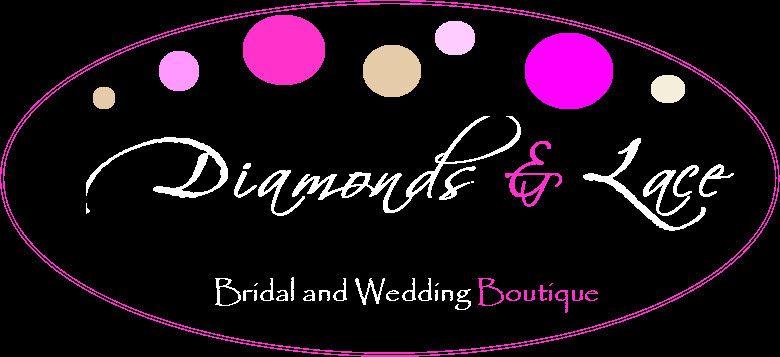diamonds lace bridal