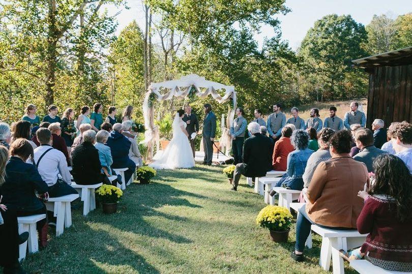 Courtyard wedding Zoe Alexandra Photography