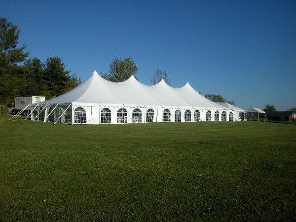 40x100 Century reception tent