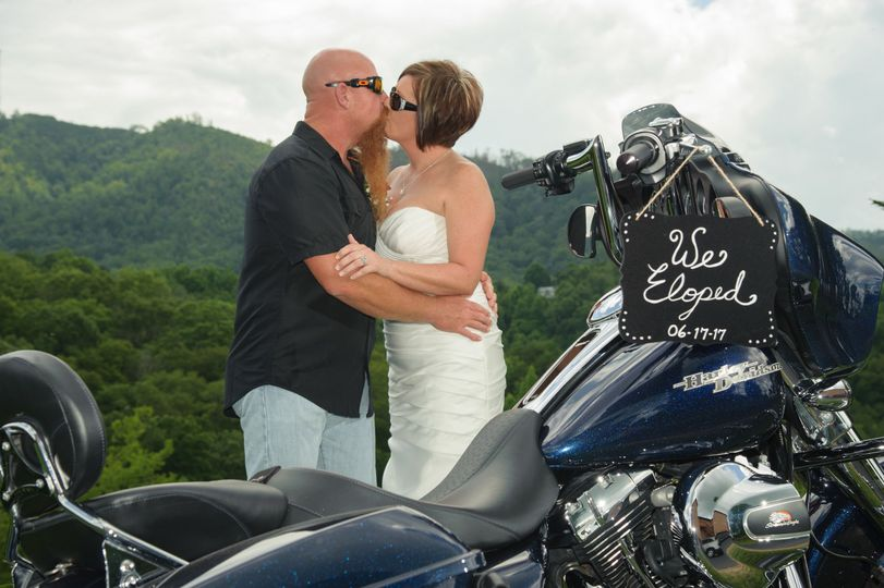Smoky Mountain Biker Weddings