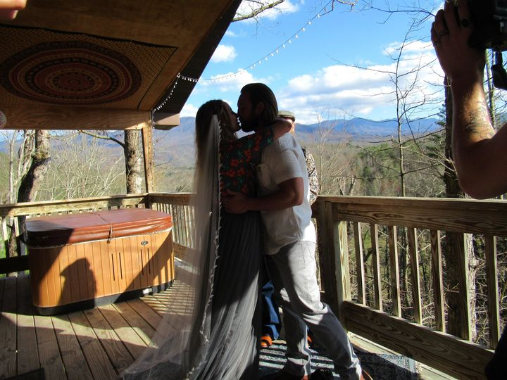 Smoky Mountain Cabin Wedding