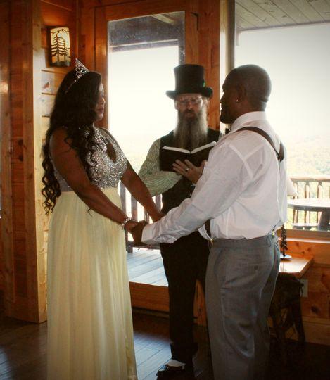 Groovy cabin ceremonies