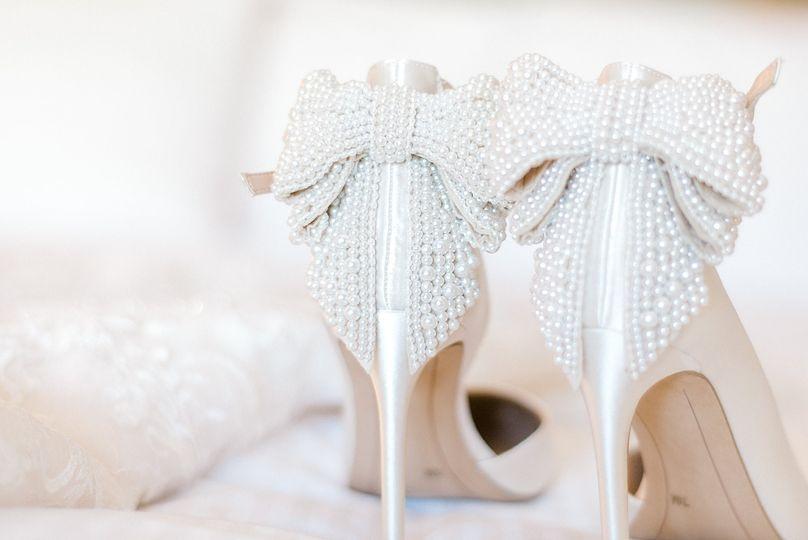 Gorgeous bridal shoes, Sedona.