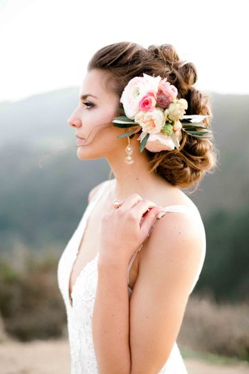 elegant bride wedding carmel california zrinski 1