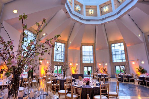 Floral decor and lighting