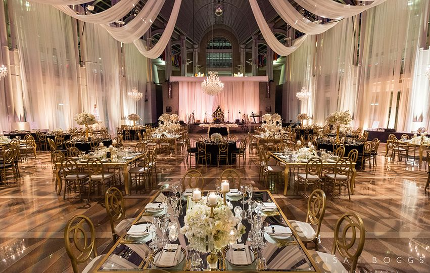 Atrium Wedding Reception