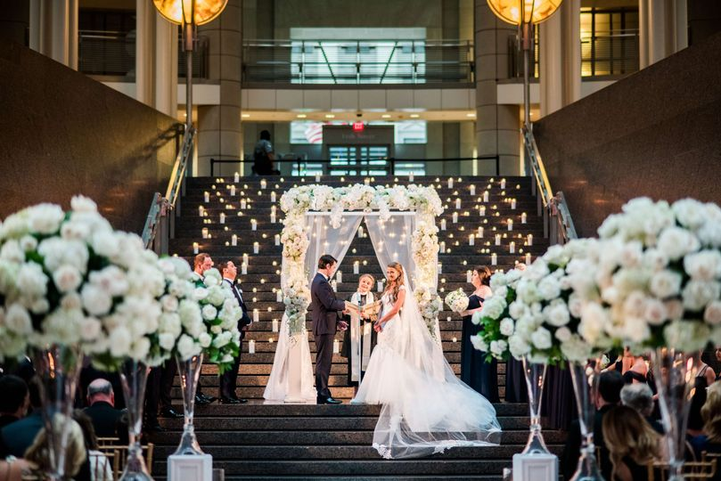 Atrium Wedding Ceremony