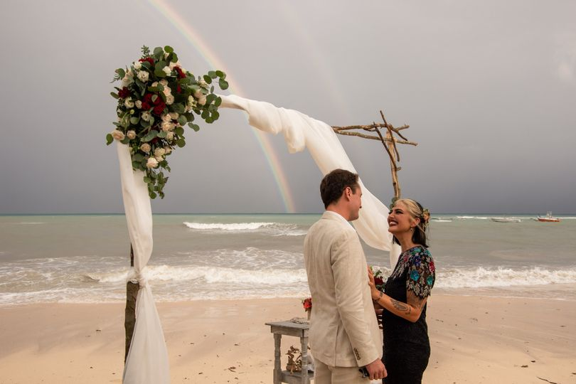 Elopement by the beach