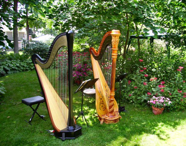 Cassopolis, Michigan wedding harpist