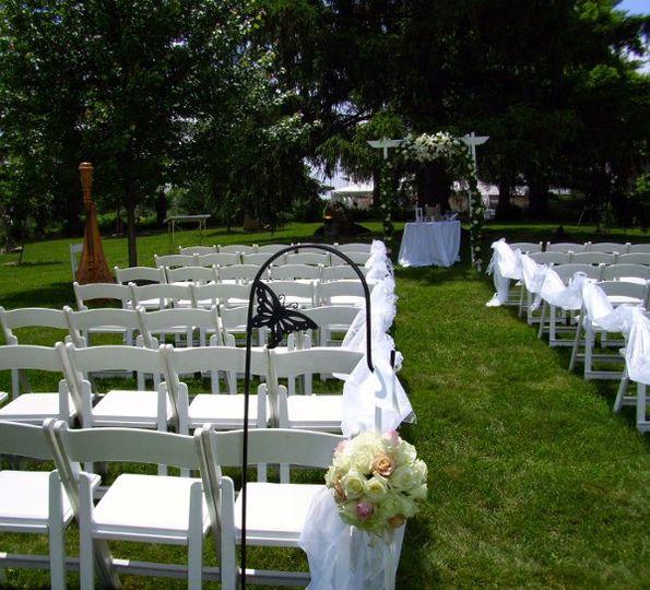 Deer Park Manor ~ Bloomington Indiana Wedding Harpist