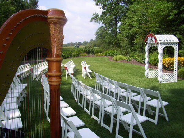 Ravines Golf Course ~ Saugatuck Michigan Wedding Harpist