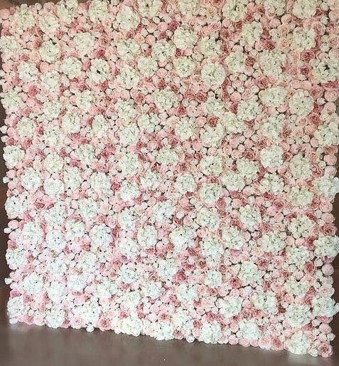 Wedding floral wall