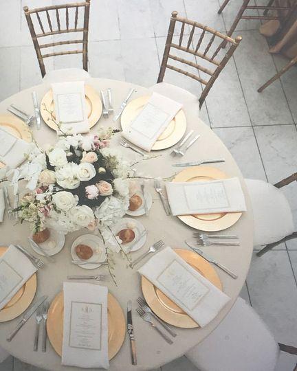 Beautiful table options