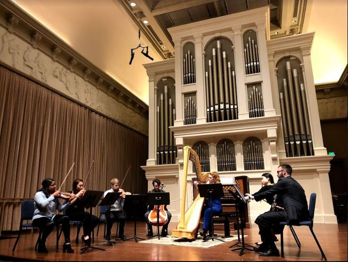Chamber Ensemble Master's Recital Peabody Conservatory MM '18