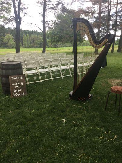 Outdoor Ceremony June 2018