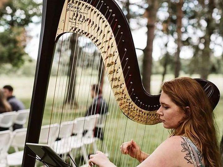 Tmx 1533694616 7d97eede719c780b 1533694616 05e15534b6a8795d 1533694614421 1 Oudoor Harp Baltimore, MD wedding ceremonymusic
