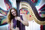 Erin Baker Harpist image