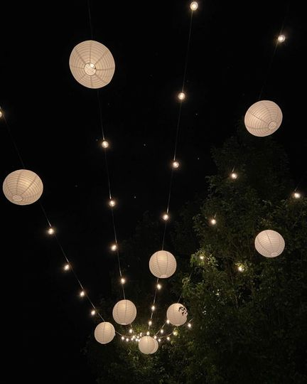 Romantic latern lighting