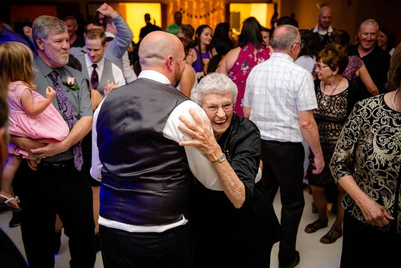 Dancing with a special lady!