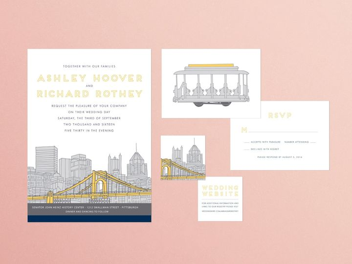 Tmx Ashleypinkbkgrd 51 1924247 158041189896748 Cleveland, OH wedding invitation
