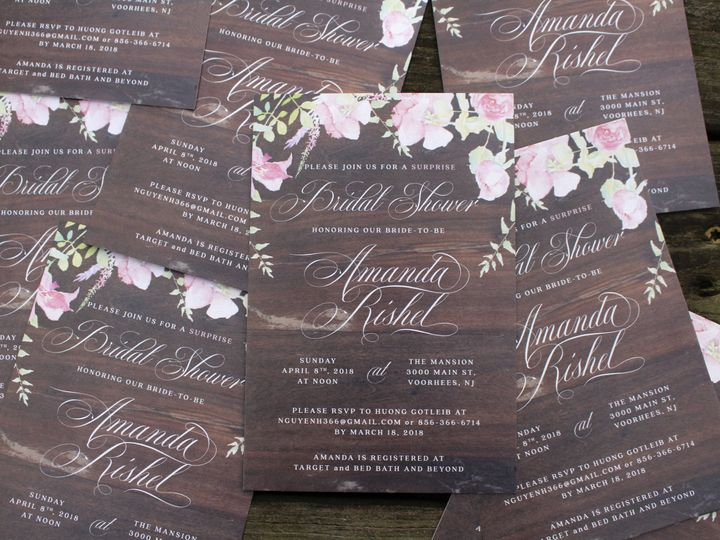 Tmx 1524774942 3a2dc8fdda3fa353 1524774937 23f4b631cdd1a1f9 1524774934243 34 HG Shower 8 Medford, NJ wedding invitation