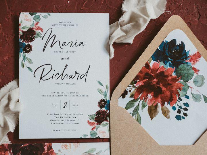 Tmx Rafferty Small 51 1005247 Medford, NJ wedding invitation