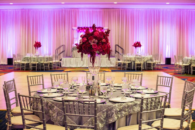 Our beautiful ballroom is a blank canvas to create the reception you always dreamed of.