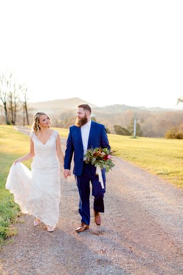 Gentry wedding - outdoor light