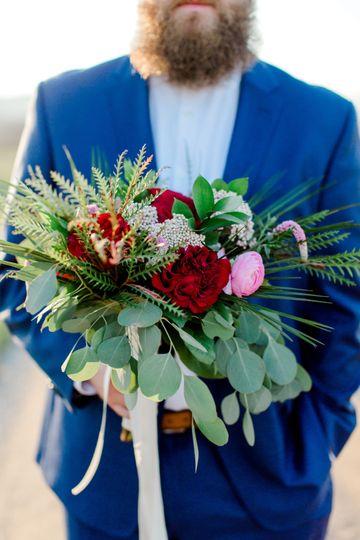 Gentry wedding - bouquet