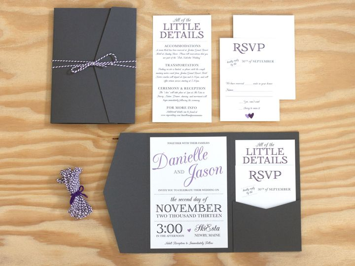 Tmx 1402945671896 Fish Suite Copy Waterville wedding invitation