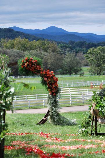 Wedding Arch On The Farm