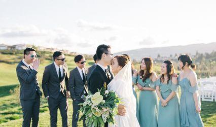 The wedding of Maureen and Isaac
