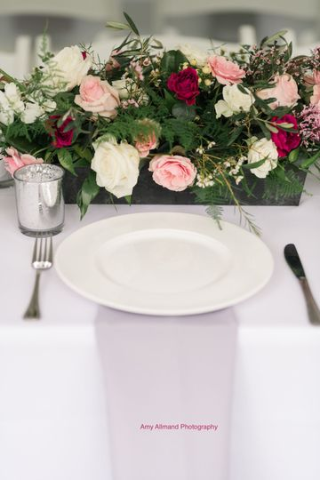 Flower table decor